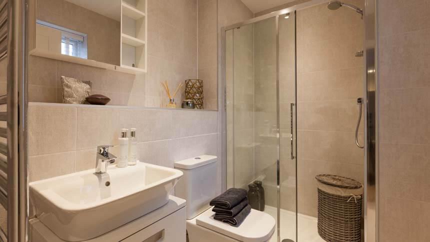 Prestbury Chase bathroom (Bloor Homes)