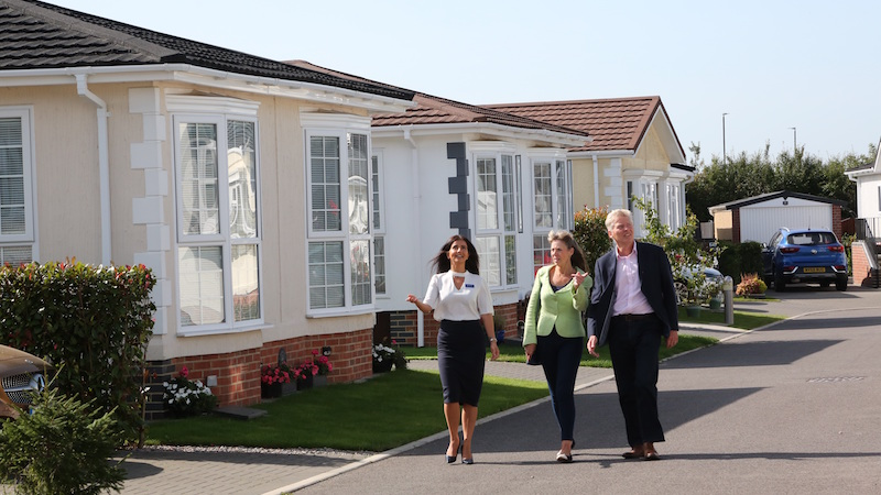 Park home bungalows growing in popularity
