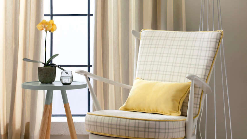 Grey and yellow will bring depth and elegance