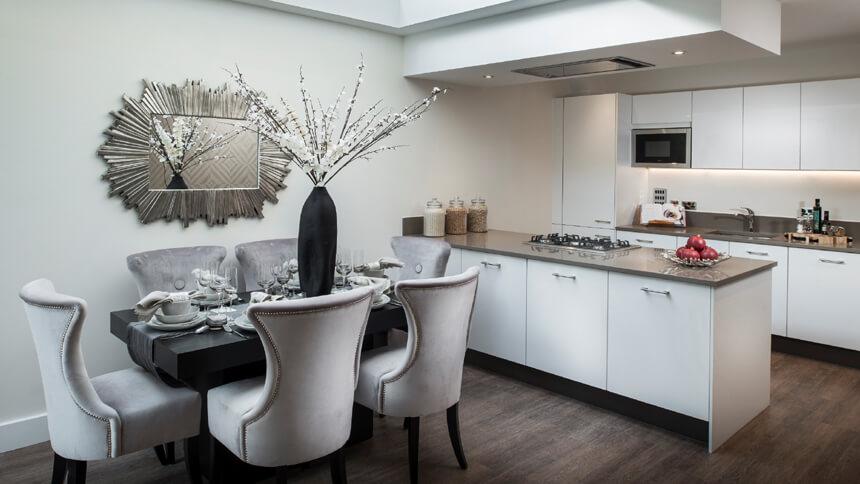 Barrington Gardens - kitchen