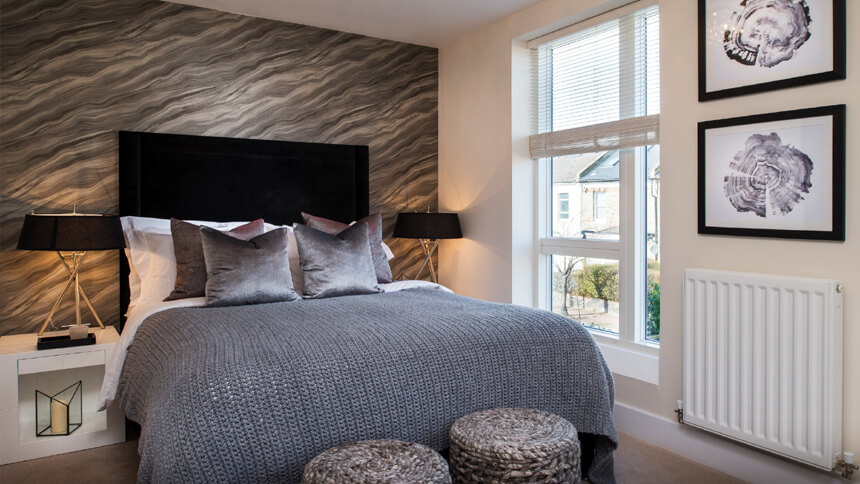 Barrington Gardens - master bedroom