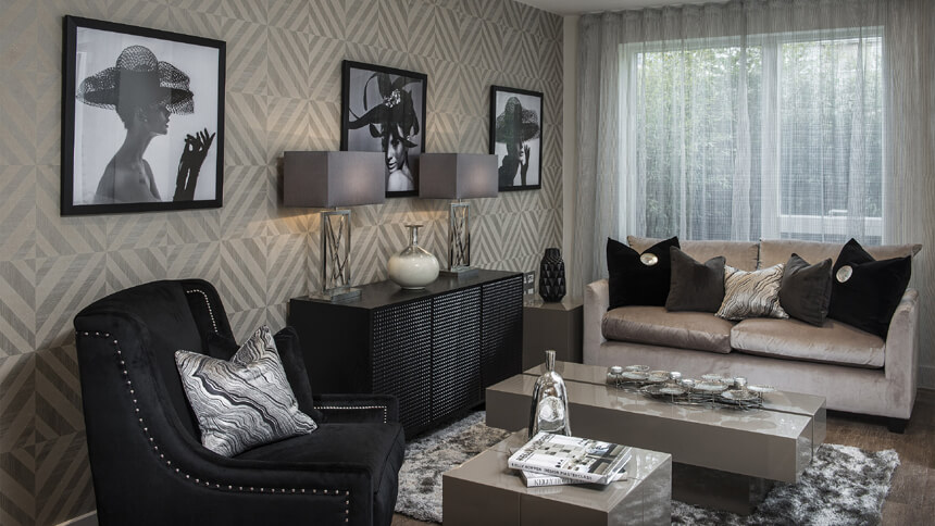 Barrington Gardens - lounge