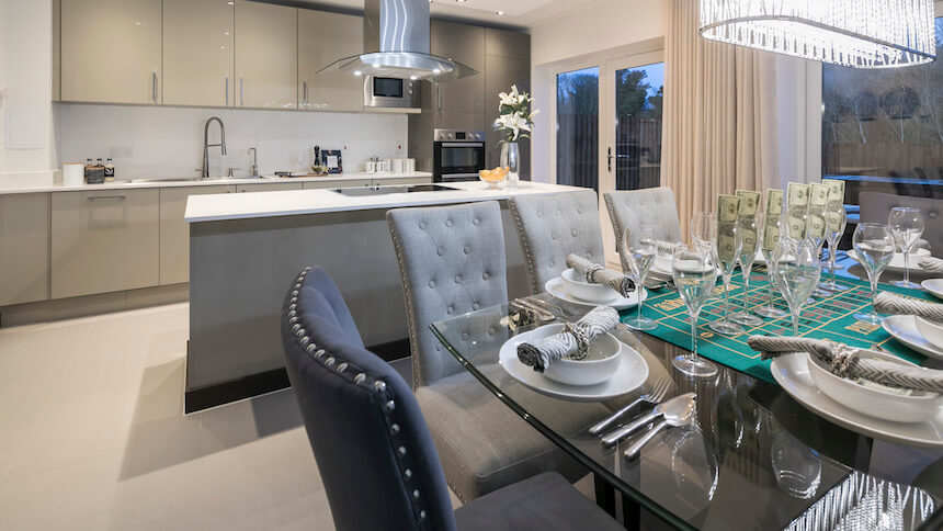 James Bond themed kitchen