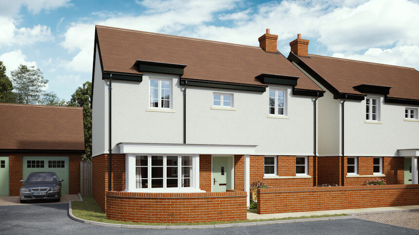 Staddlecote Place in Wiltshire (Shepperton Homes)
