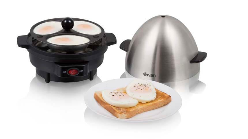 Swan egg boiler