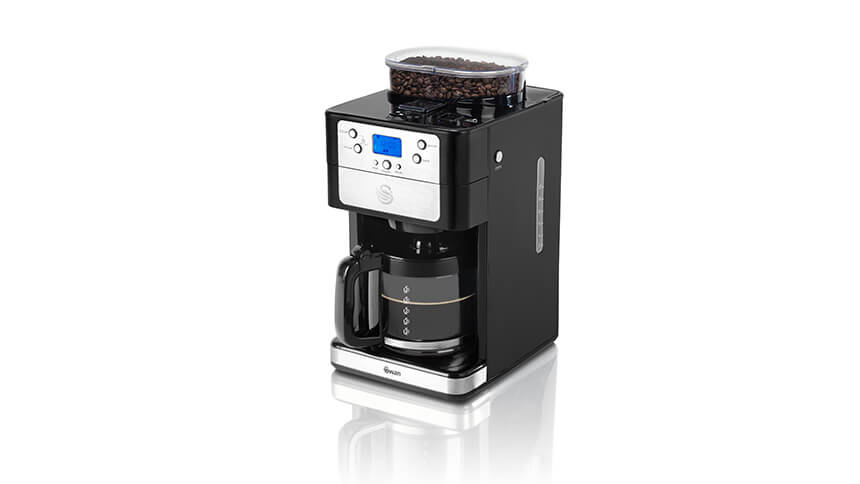 The Swan SK32020N Bean to Cup coffee machine