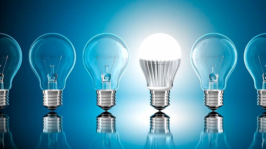 Low-energy lighting