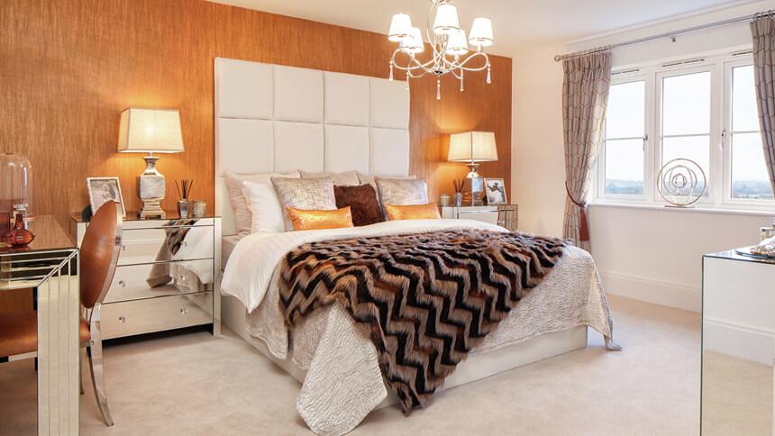 Priest Hill Heights bedroom