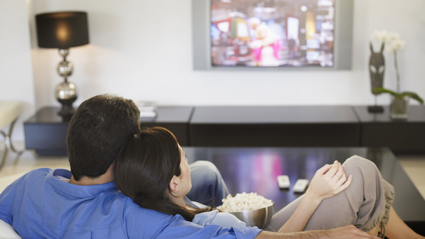 63% of people choose to watch TV to relax