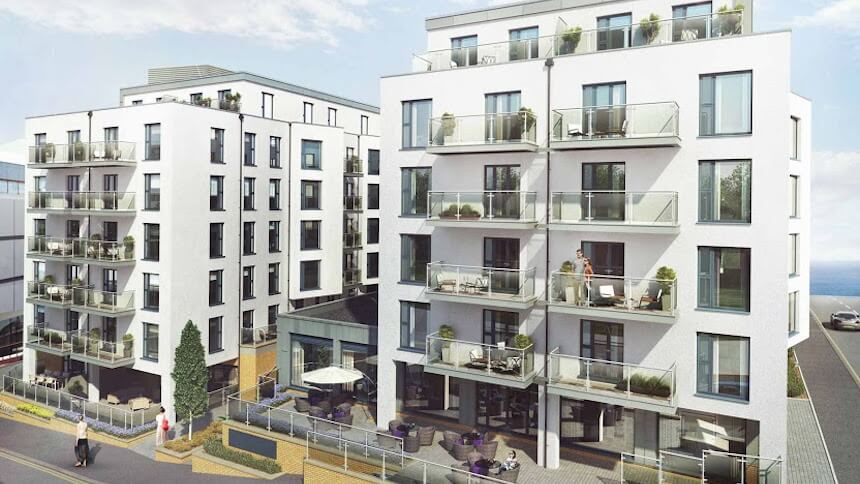 Coast development, Bournemouth (Taylor Wimpey)