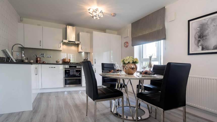 show home dining room | Show home room by room - The Gyle, Edinburgh