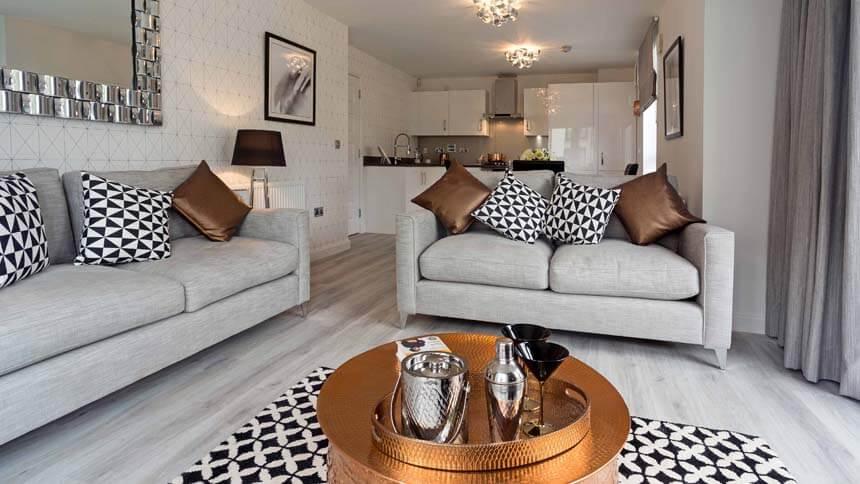 The Gyle Living Area (Barratt Homes)