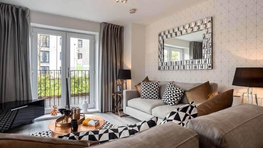 Show home room by room the gyle edinburgh for Room interior design edinburgh