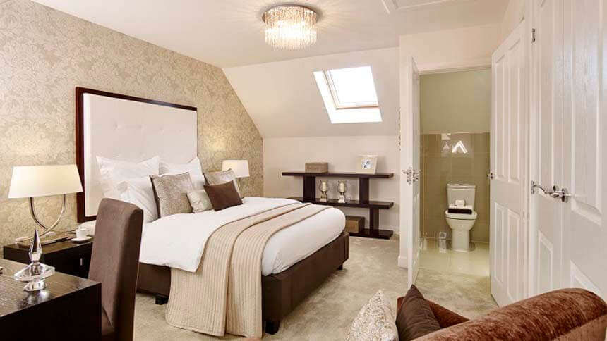 The Penn master bedroom (Bellway Homes)