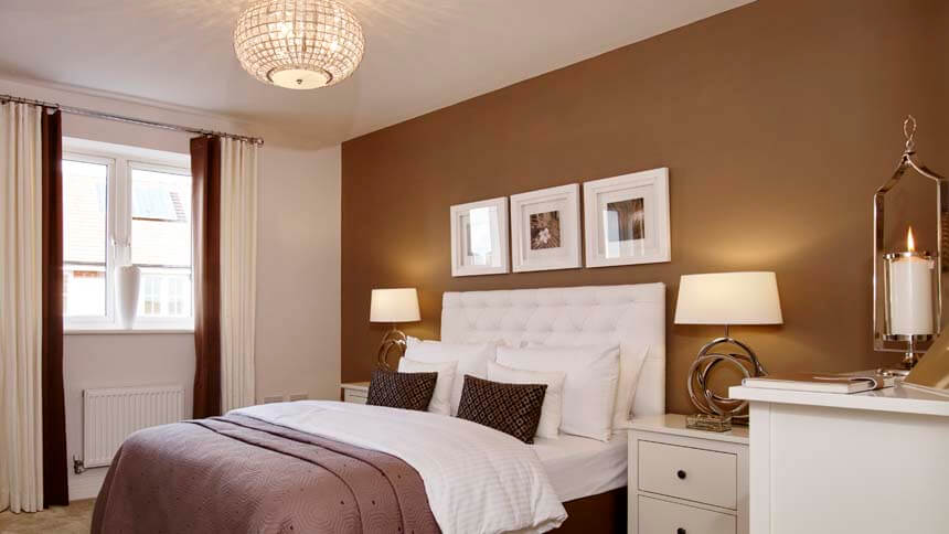 The Penn second bedroom (Bellway Homes)