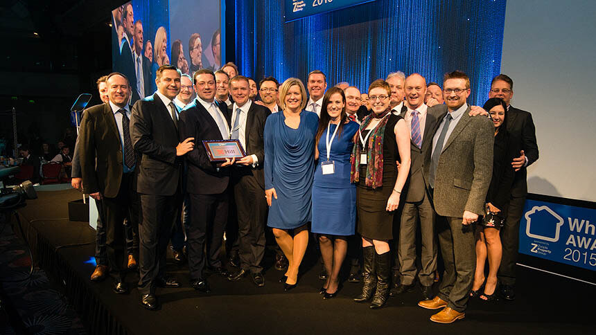 Hill receives it Housebuilder of the Year title