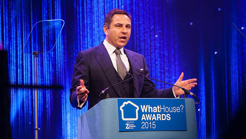 WhatHouse? Awards celebrity host, David Walliams