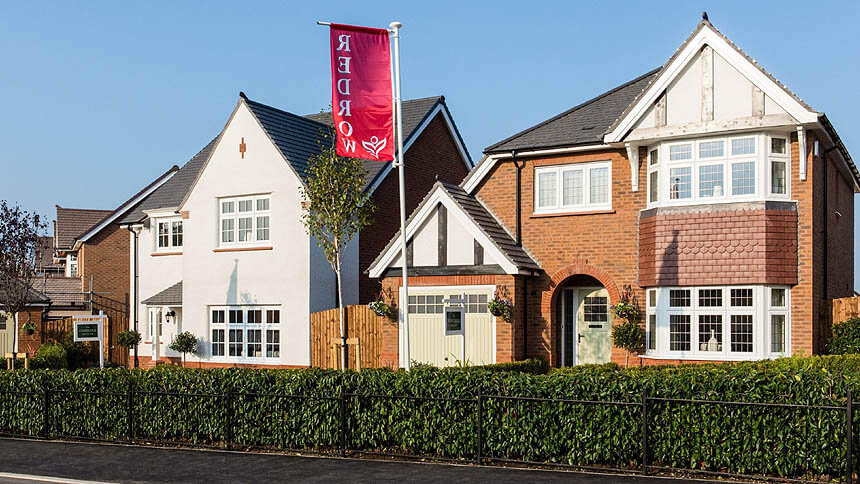 Redrow's Lucas Green development in Chorley