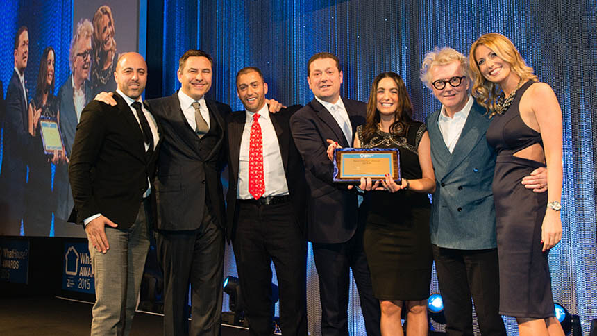 The Newcourt team accepts WhatHouse? Awards Gold