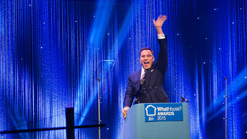 WhatHouse? Awards 2015 host David Walliams