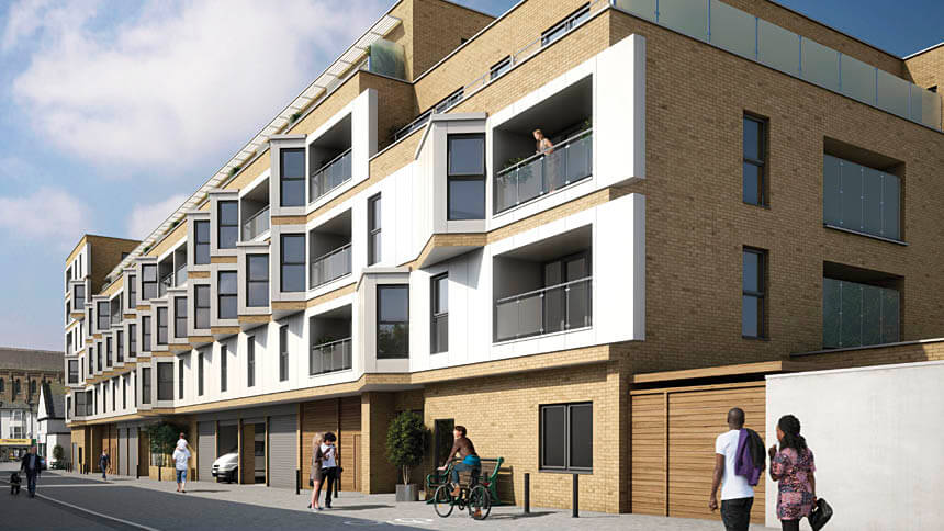 The Barrows in Brighton, from Hyde New Homes