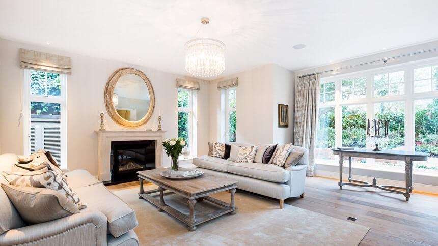 Walpole House's drawing room