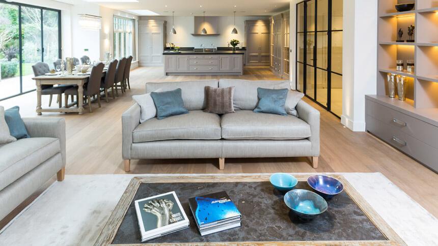 Walpole House living area