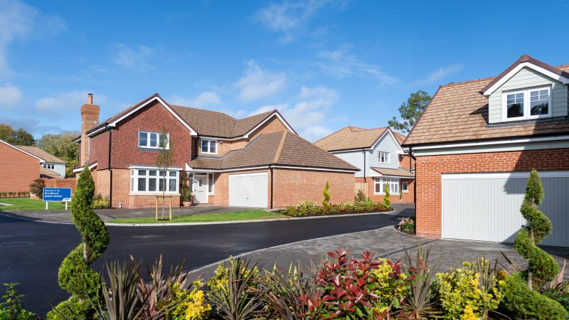 The Kirdford show home at Bluebell Meadow in Wisborough Green