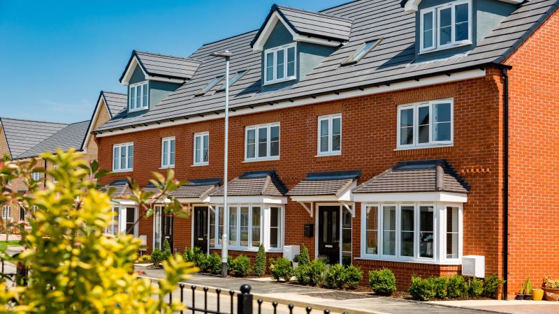 Bovis Homes' development in Witchford