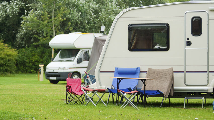 The extra cost doesn't apply to caravans