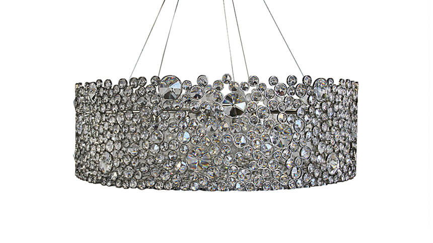 Eternity chandelier, KOKET