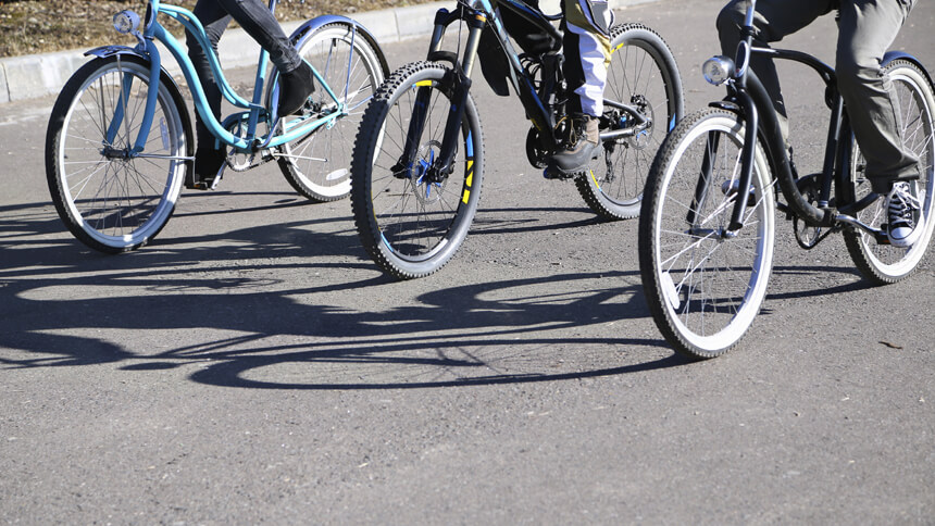 Swap the car for a bike this Lent