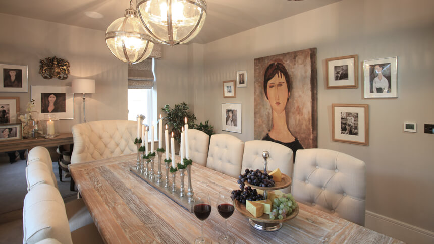 The Harrogate Show Home Dining Room