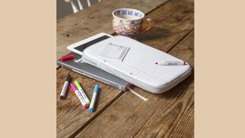 iPad doodle case