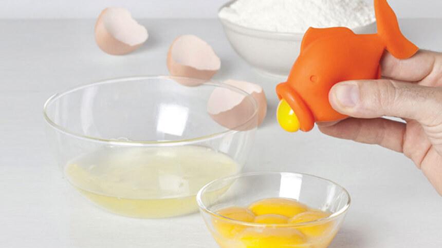 Yolkfish egg separator