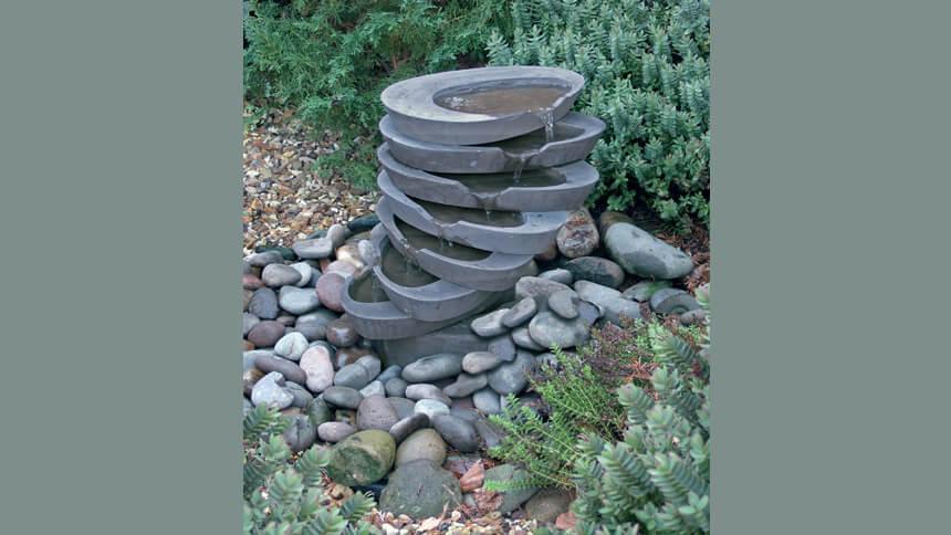 Haddonstone's AquaStack fountain