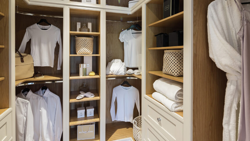 Ample space to display your clothes