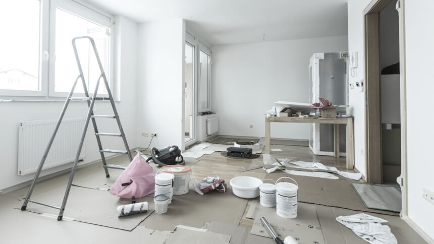 Painting a room is the top job Brits want done