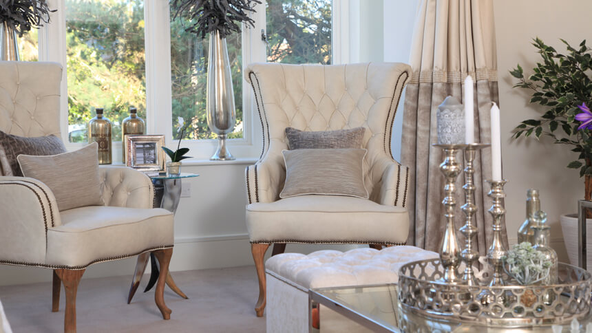 The Harrogate show home lounge