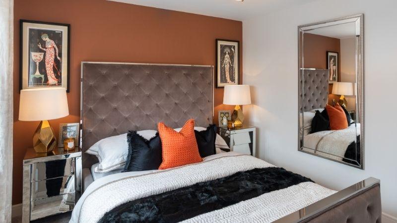 'Medway' guest bedroom
