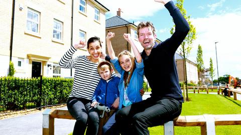 Matt McTurk and his family