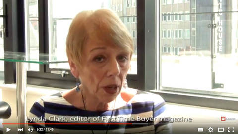 Lynda Clark of First Time Buyer magazine
