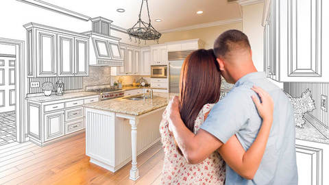 Home improvements can add value to a property