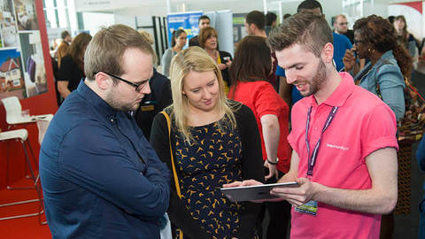 Buyers at the First Time Buyer Home Show