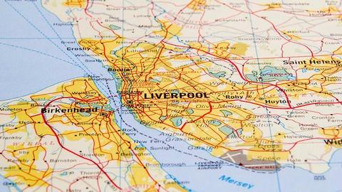 Merseyside map