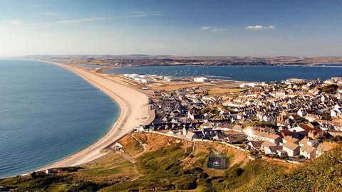 Chesil Beach and the Dorset coast