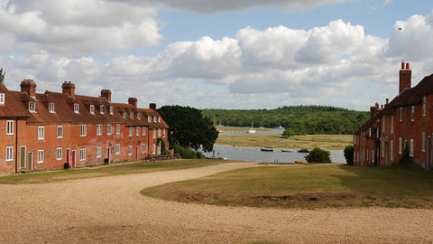 Scenic Hampshire, a popular place for retirement