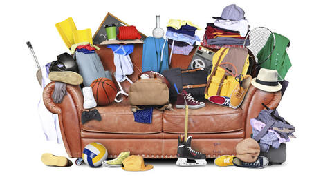 The average home has £4,000 of unwanted items