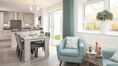 Example of Barratt Homes interior