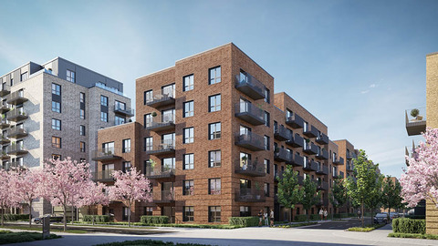 Southall Waterside (Catalyst/Clarion/Berkeley)